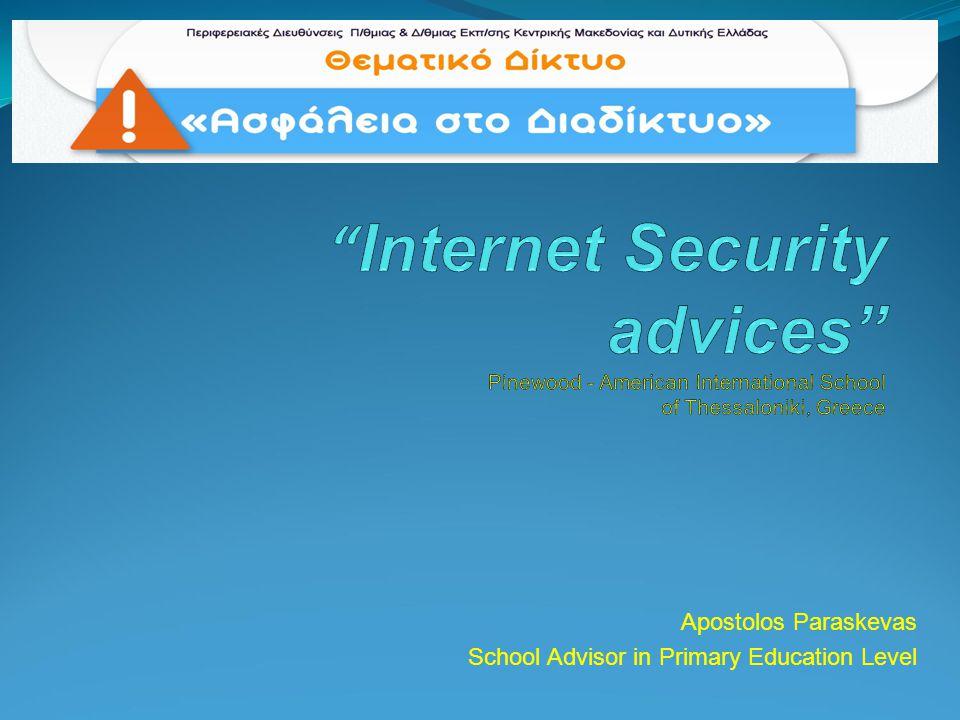 Apostolos Paraskevas School Advisor in Primary Education Level
