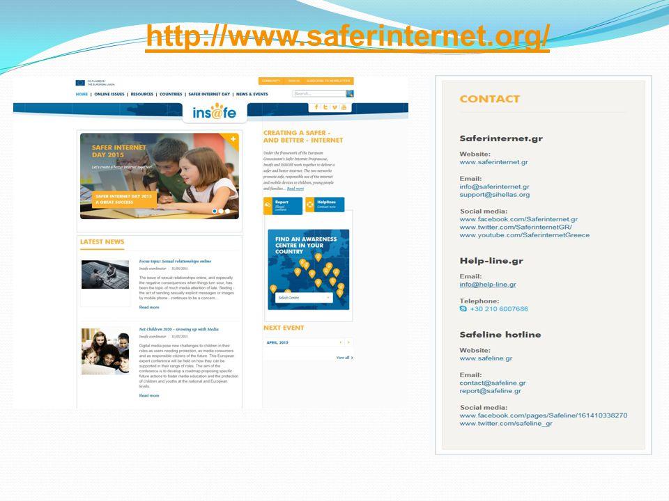 http://www.saferinternet.org/