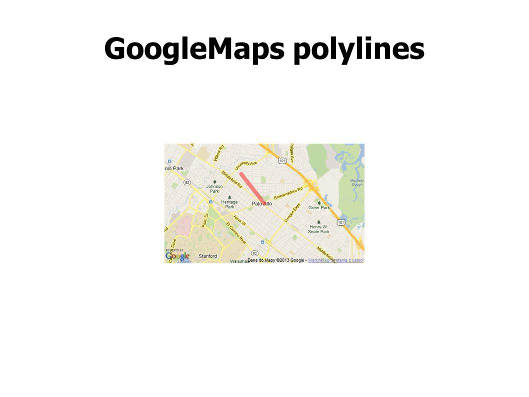 GoogleMaps polylines