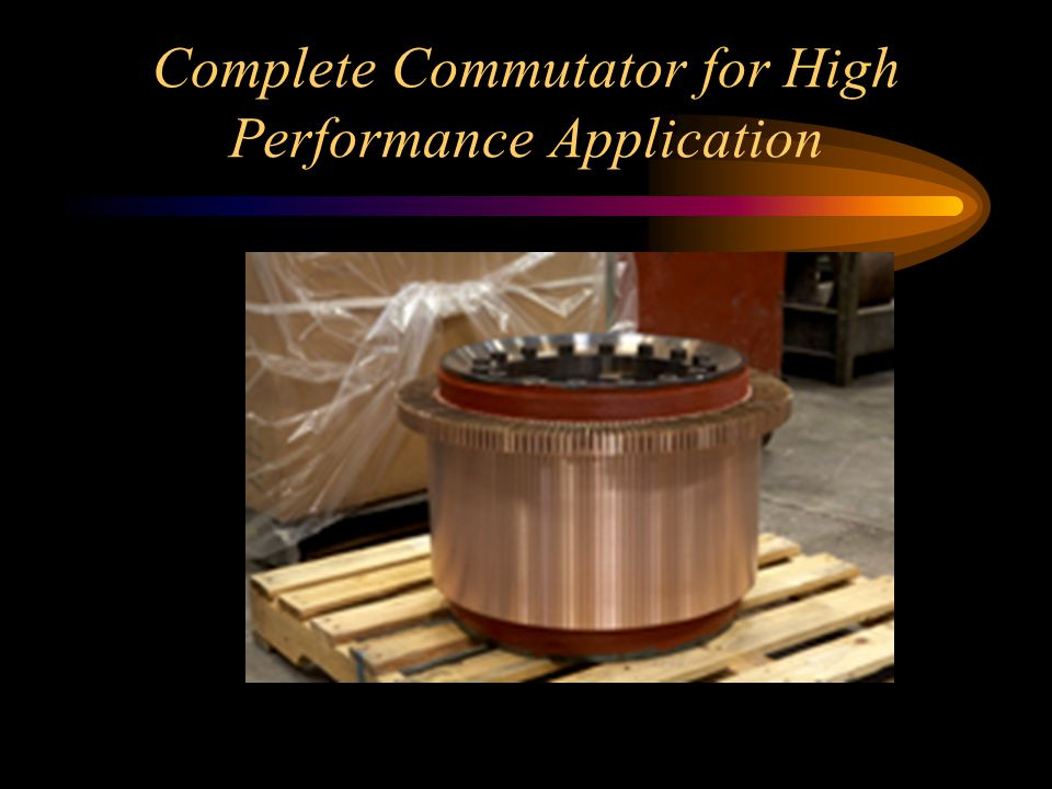 Complete Commutator for High Performance Application