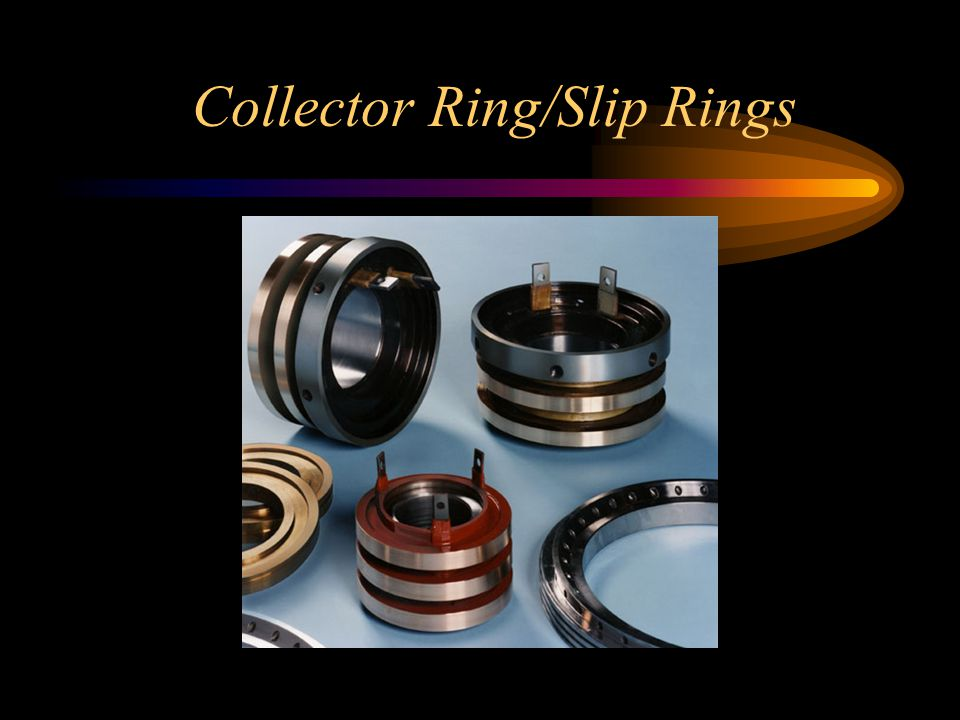 Collector Ring/Slip Rings