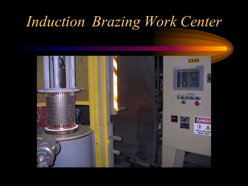 Induction Brazing Work Center
