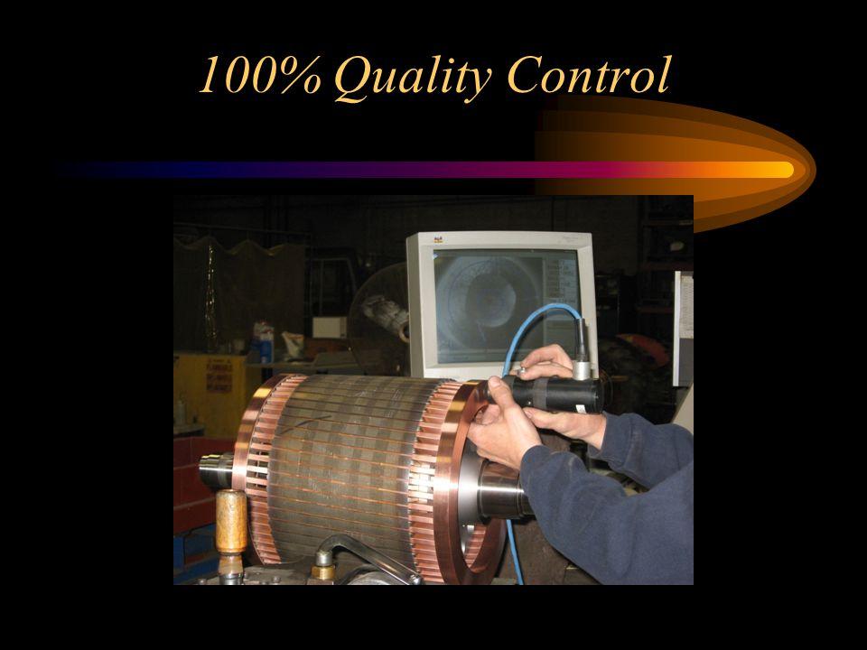100% Quality Control