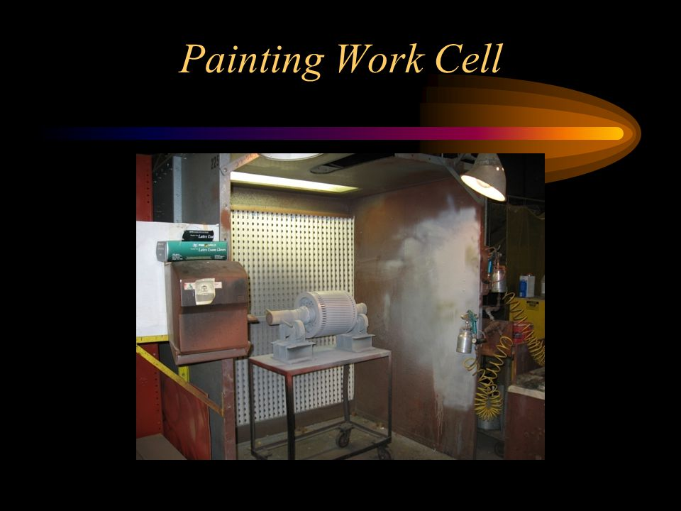 Painting Work Cell