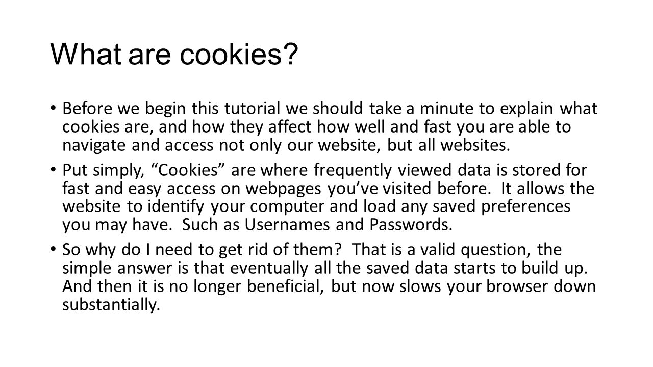 Bad Cookies If a regular, good, cookie saves your user data and can be used to identify your computer when you access a webpage then it is logical to assume that there are also bad cookies, which is correct.