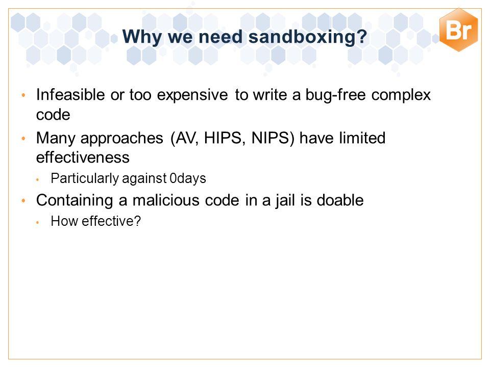 Bromium Confidential Type A: OS enhancement based: Sandboxie, Buffer Zone Pro etc.