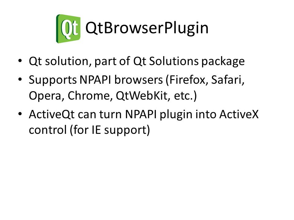 Framework for extending web browser JavaScript Requires installation Access to system resources (files, TCP/UDP sockets, databases, threads, etc.) Tight PKI (Public Key Infrastructure) system Requires user authorization for each site