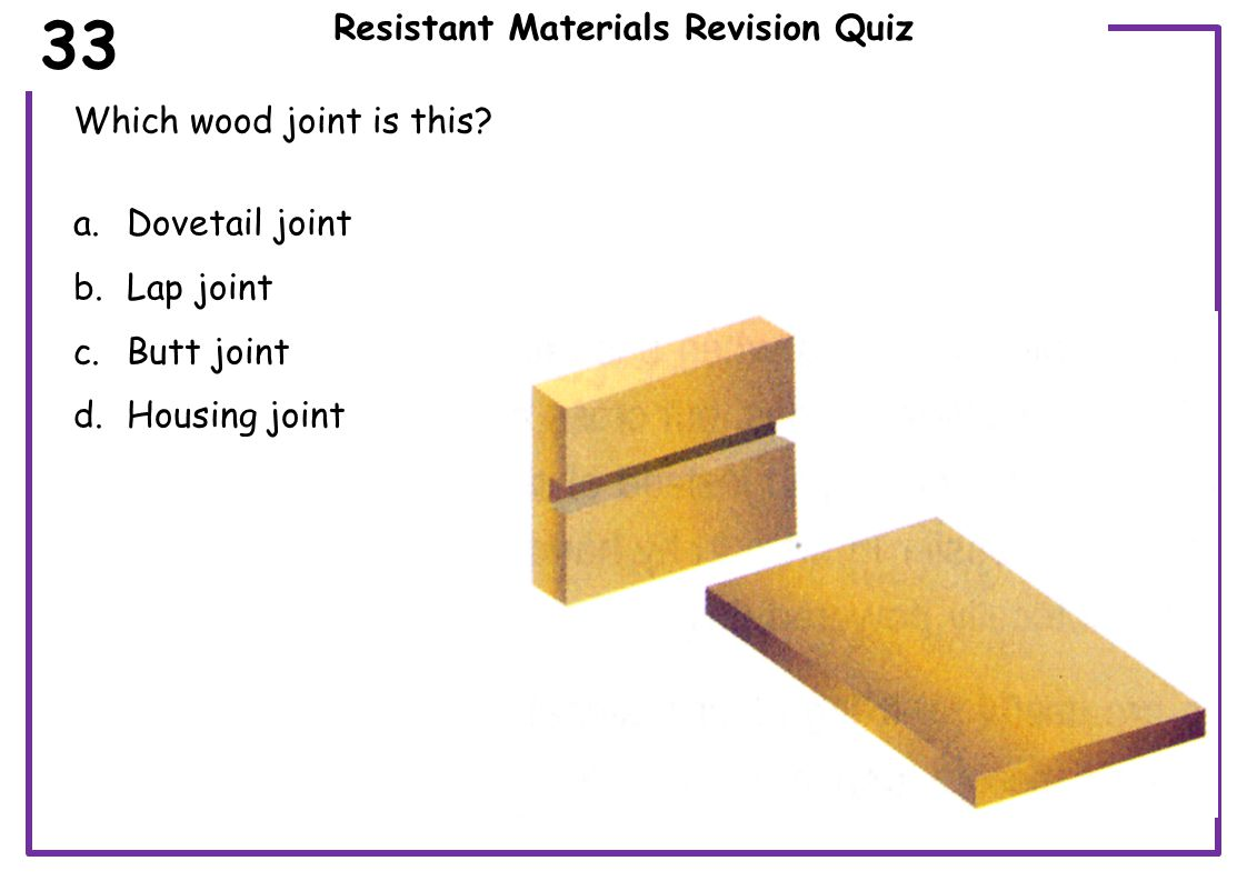 Resistant Materials Revision Quiz What does sustainability mean.