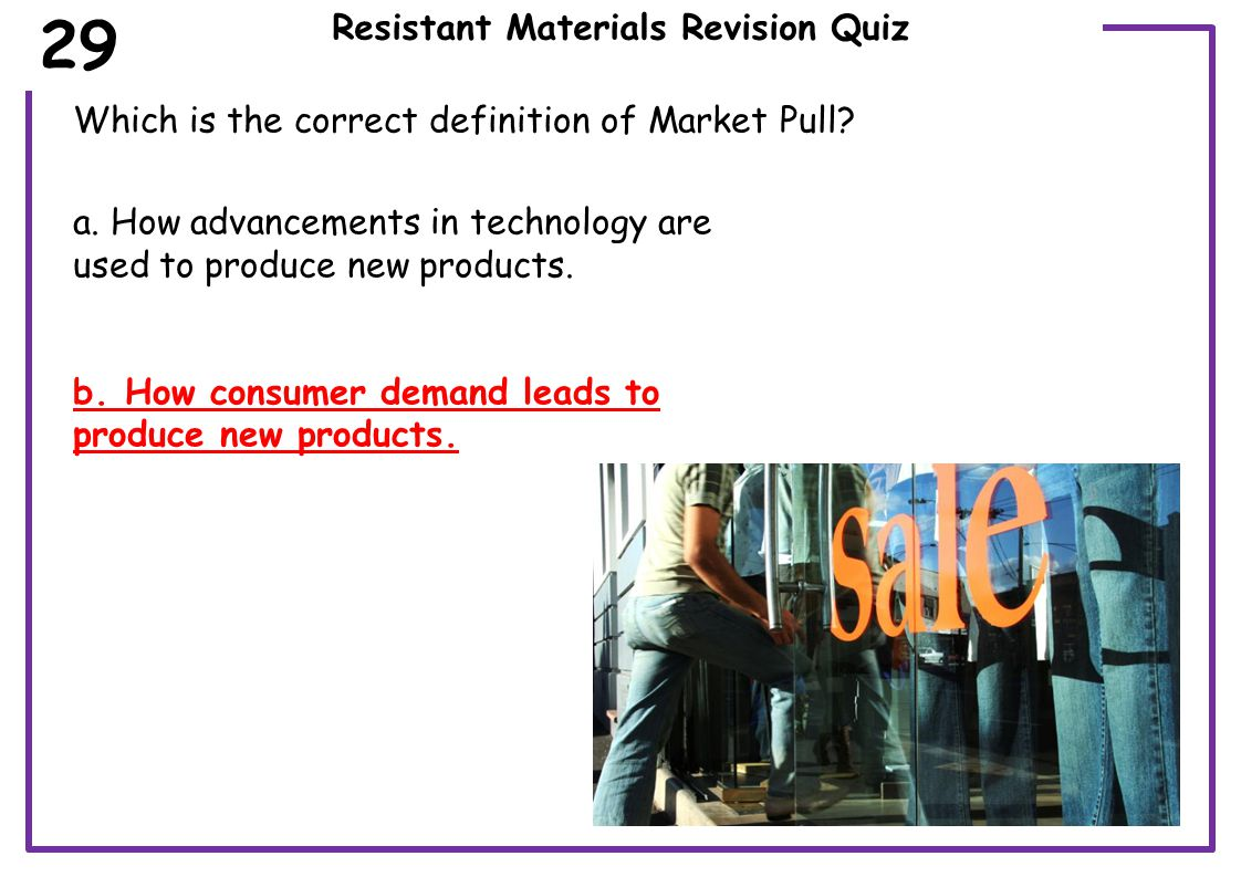 Resistant Materials Revision Quiz What kind of tree is this below in the image.