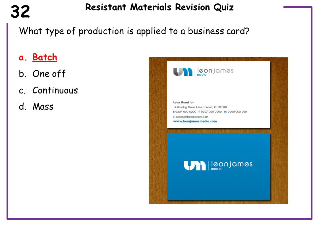Resistant Materials Revision Quiz Which wood joint is this.
