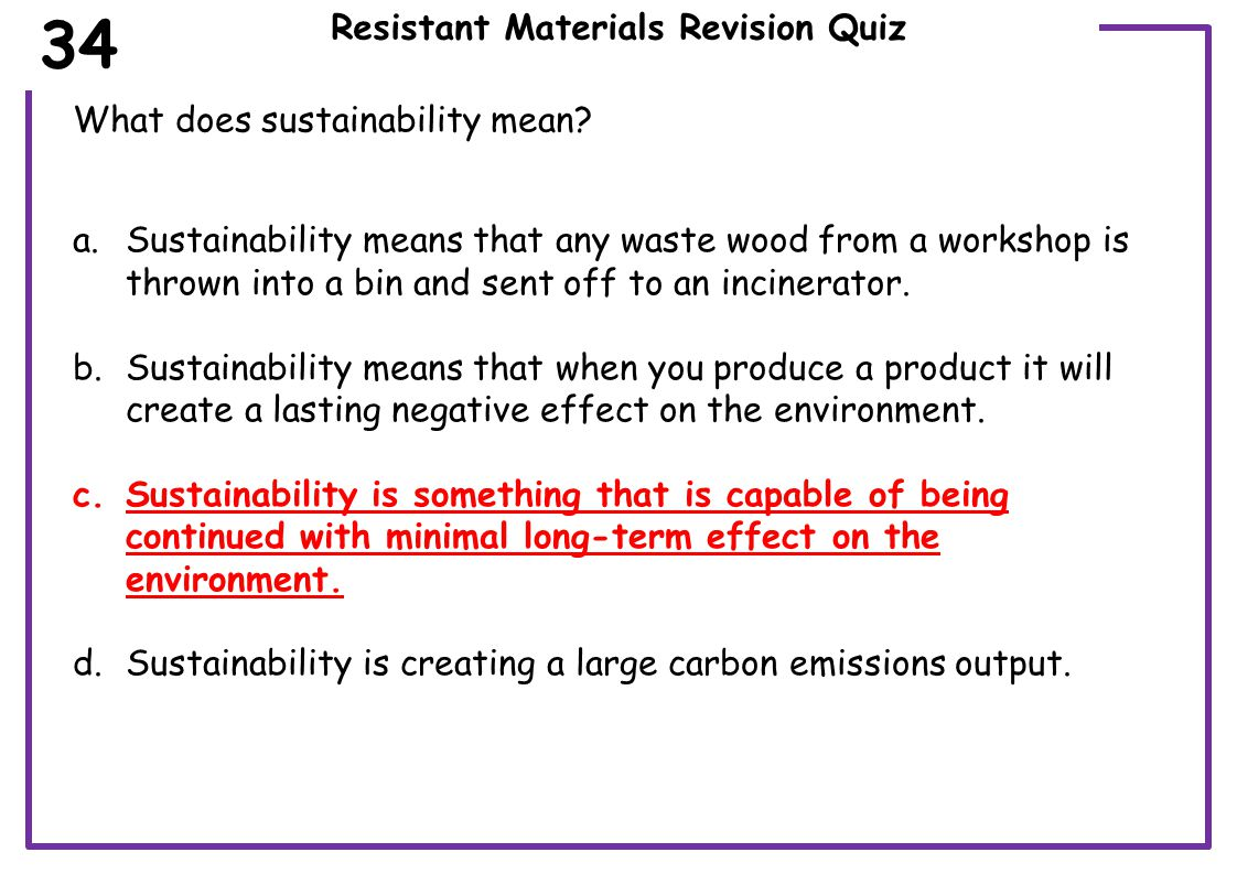 Resistant Materials Revision Quiz Which flowchart symbol below represents a decision or question.