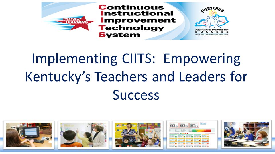 Maritta Horne, CIITS Service Manager Cathy White, EDS Product Manager Nick Gustin, CIITS Technical Analyst Lyndsey Robinson, CIITS Integration Specialist