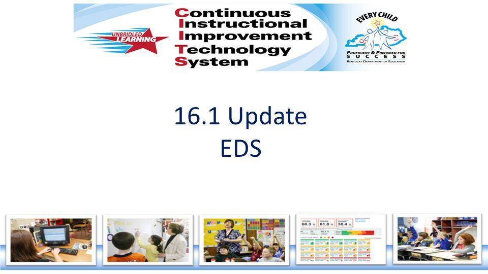 16.1 Update EDS