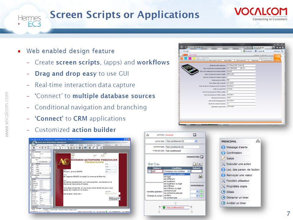 www.vocalcom.com Other vendors are less expensive.