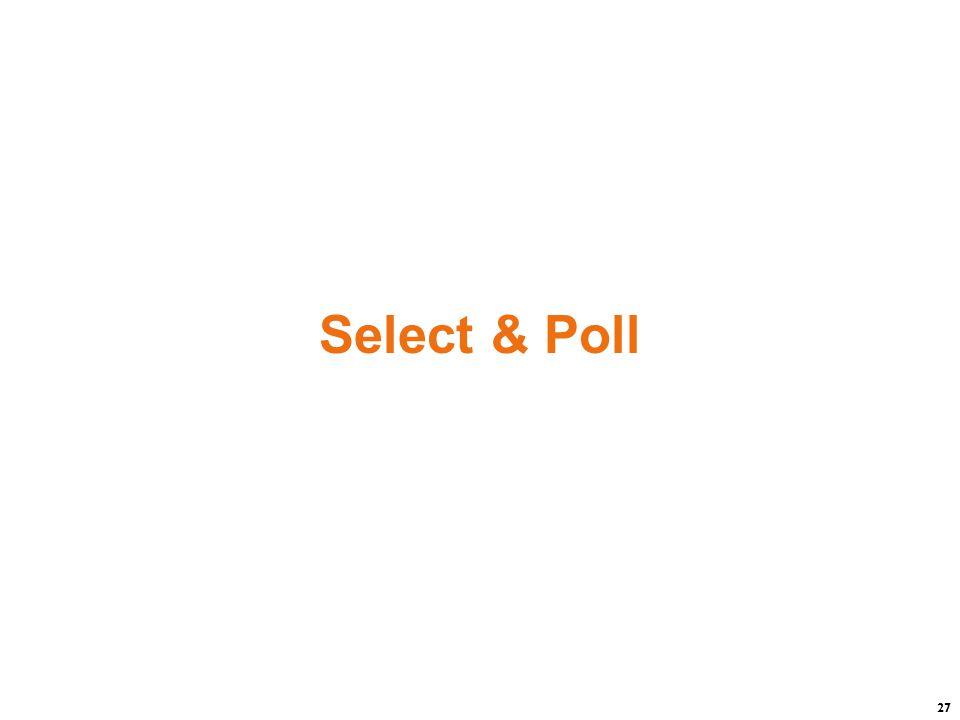 27 Select & Poll