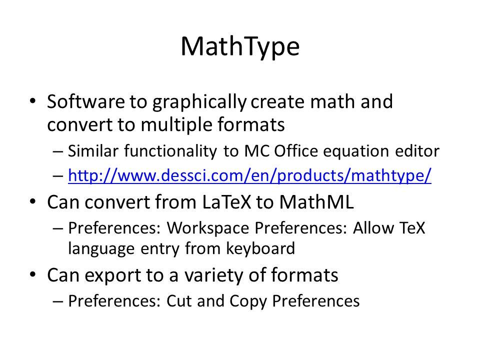 Adding MathJax to a Web Page <script type= text/javascript src= http://cdn.mathjax.org/mathjax/latest/MathJax.js.