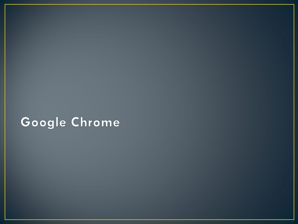 Chrome is a fast, secure, and easy to use web browser created by Google.