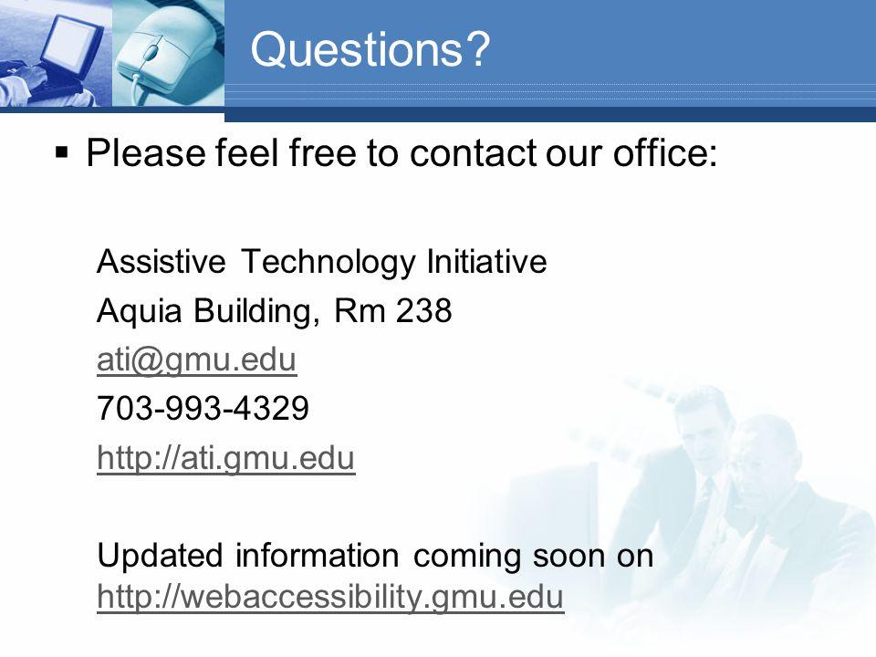 Web Testing Resources Web Accessibility Toolbar: http://www.visionaustralia.org.au/ais/toolbar/ http://www.visionaustralia.org.au/ais/toolbar/ WAVE: h