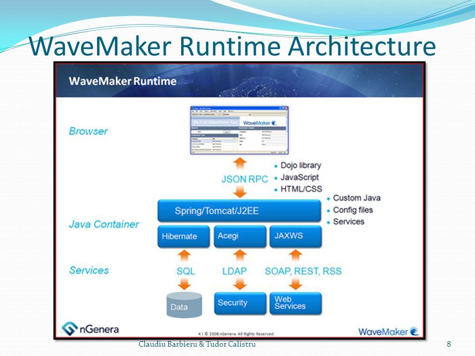 WaveMaker Runtime Architecture Claudiu Barbieru & Tudor Calistru8