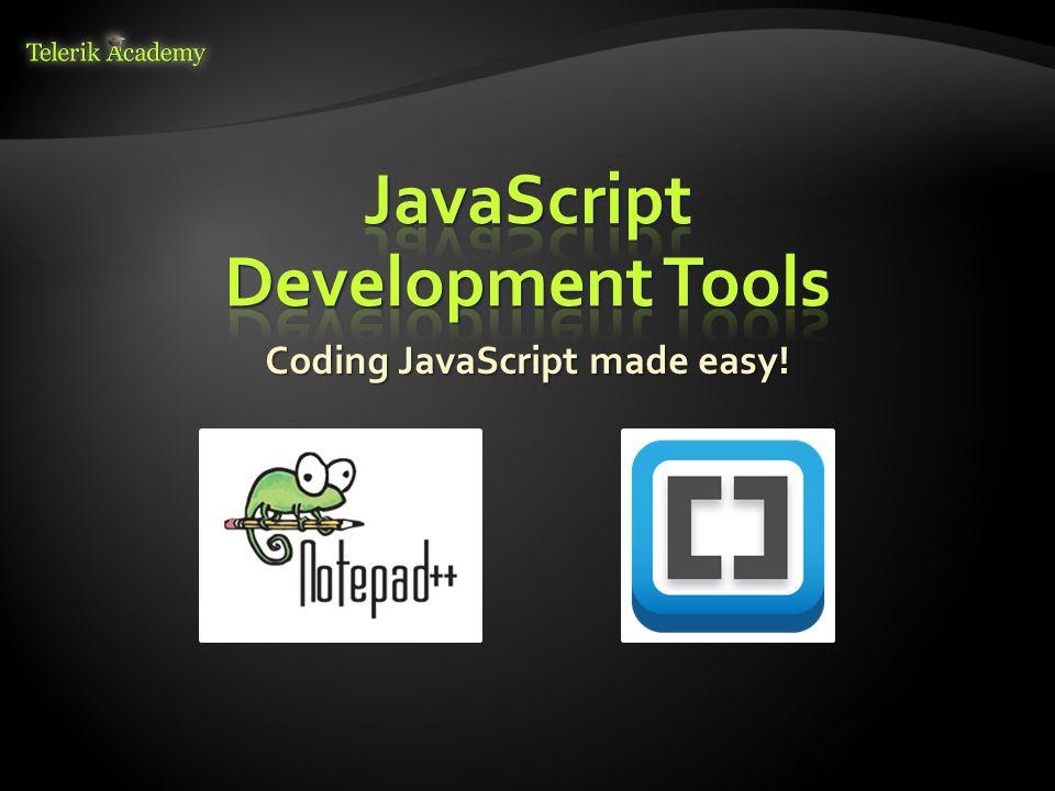 Coding JavaScript made easy!