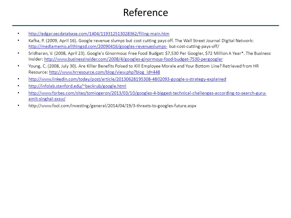 Reference http://edgar.secdatabase.com/1404/119312513028362/filing-main.htm Kafka, P.