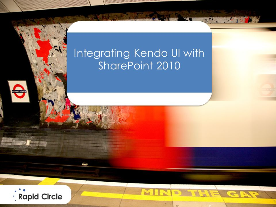 Why integrate Kendo UI in SharePoint.