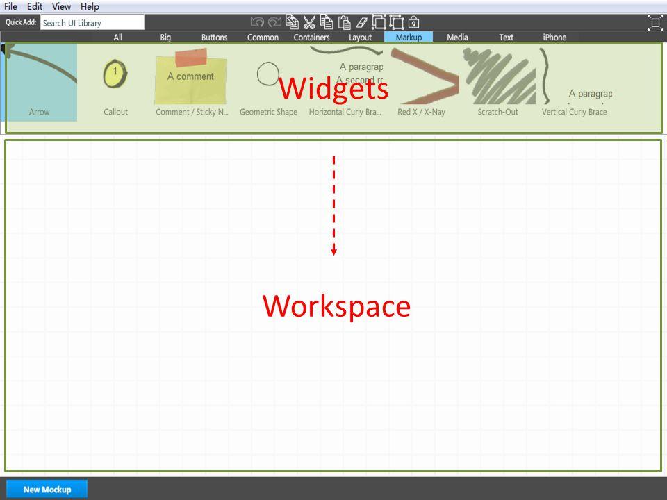 Workspace Widgets