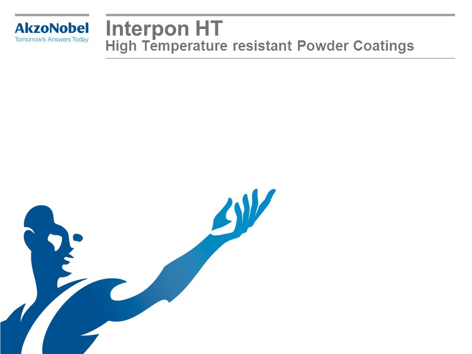 Interpon HT Heat resistance properties from 200°c up to 550°C Silicon-based products as organic resins are degraded by heat to form ash: Powder Coatings | Title2 Test 16 hours at 315°C Interpon HT Interpon 700