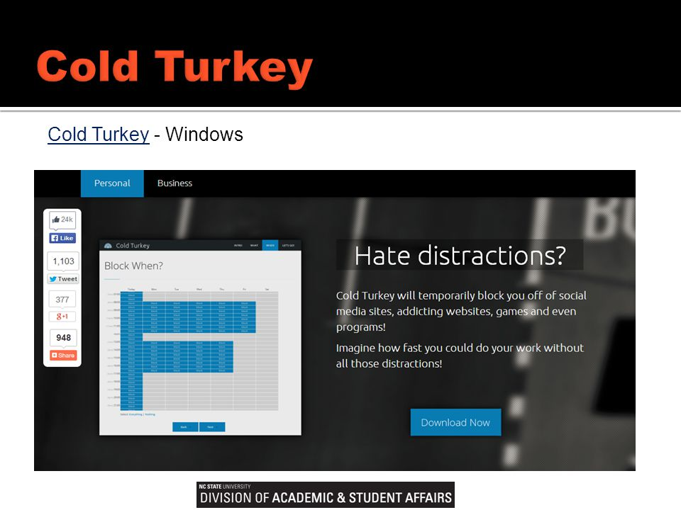 Cold TurkeyCold Turkey - Windows