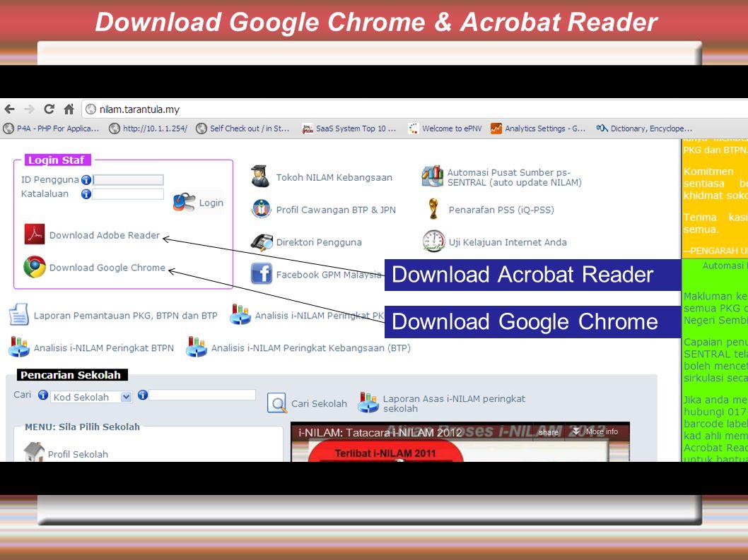 Download Google Chrome & Acrobat Reader Download Acrobat Reader Download Google Chrome