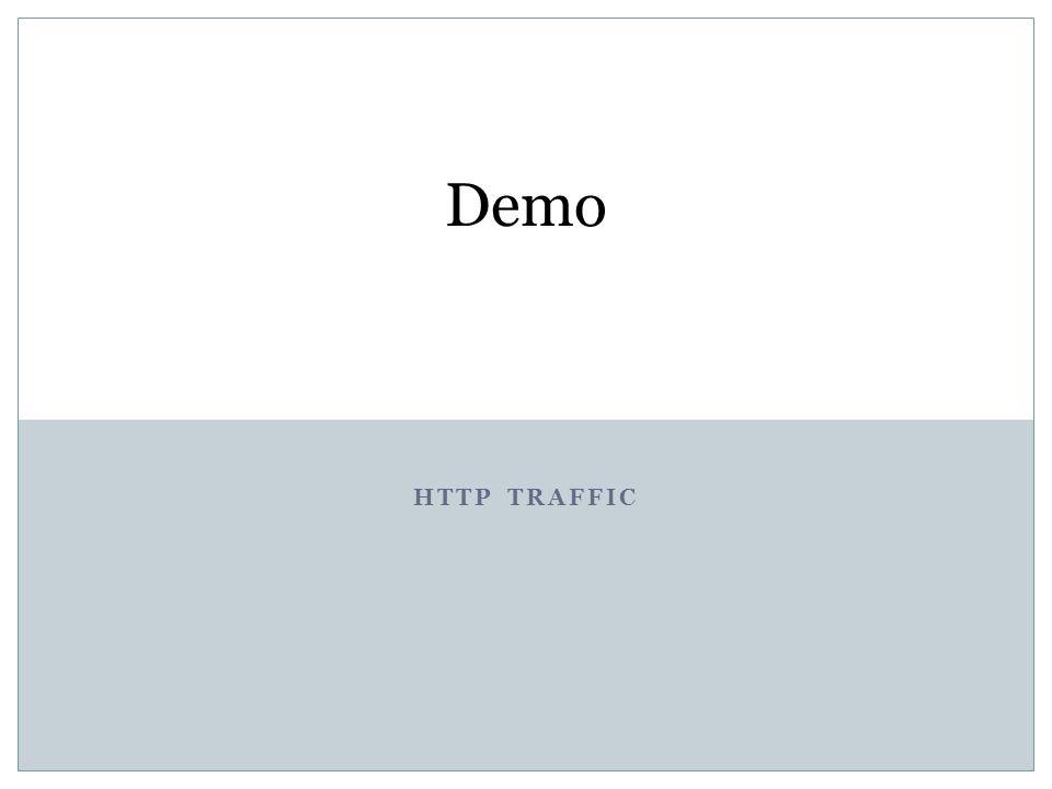 HTTP TRAFFIC Demo