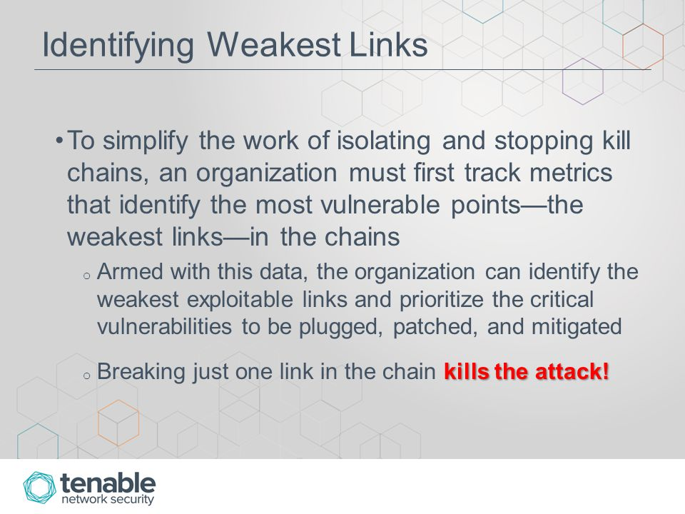 Create Combination Assets Breaking Kill Chains ClientsCreate Breaking Kill Chains Clients combination asset: o All systems that have web client applications