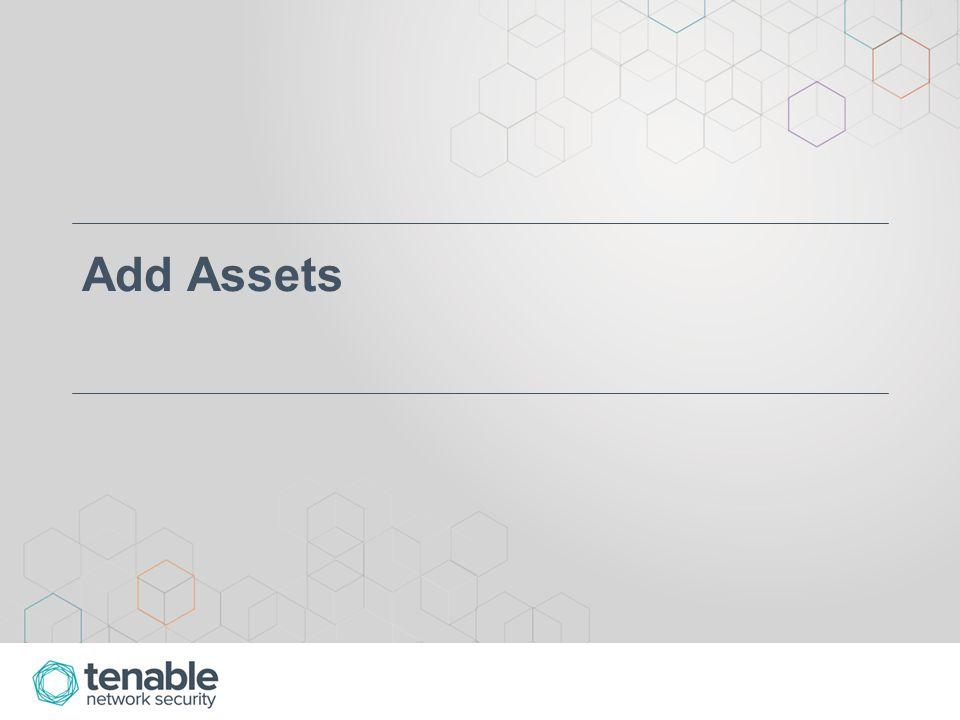 Add Assets