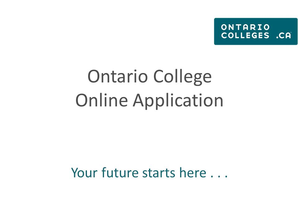 Step 3 – Applicant Home Screen / Dashboard MESSAGE CENTRE: Important information about your application is found here.