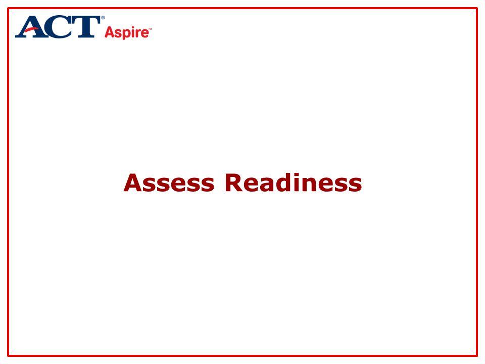 Assess Readiness