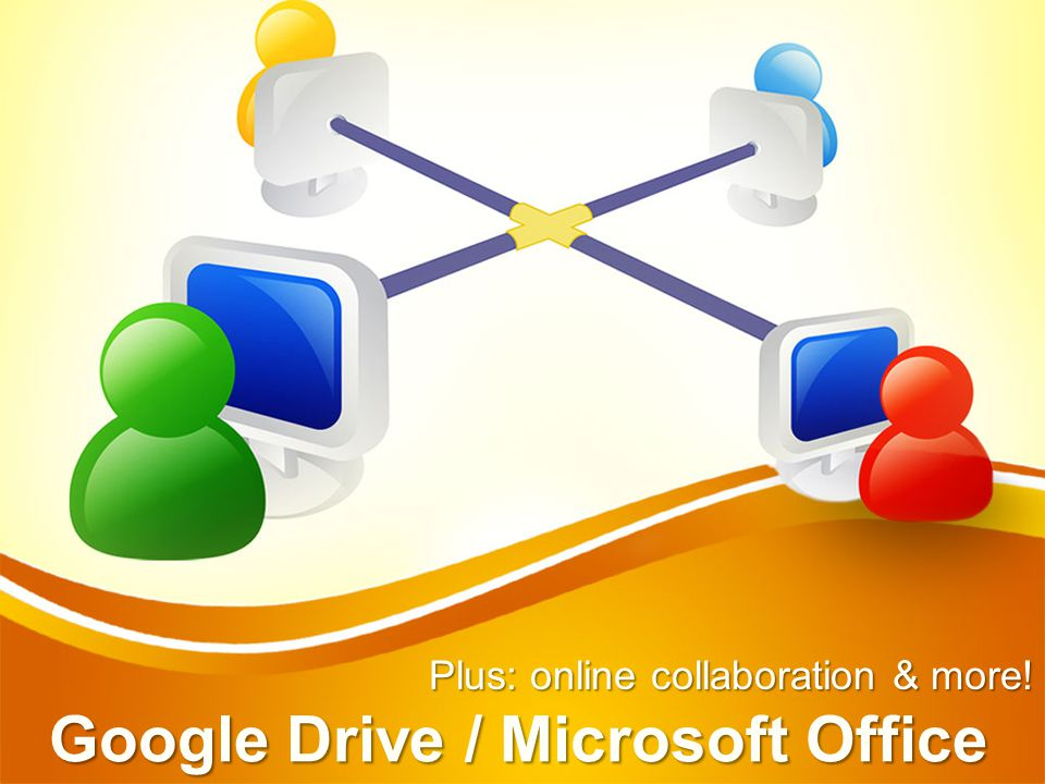 GOOGLE DRIVE documents / presentations / spreadsheets / forms