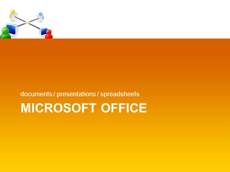 MS Office Documents Full word processing suite Many templates built- in & more online Most used worldwide Track changes Built-in citation or can integrate with Endnote software