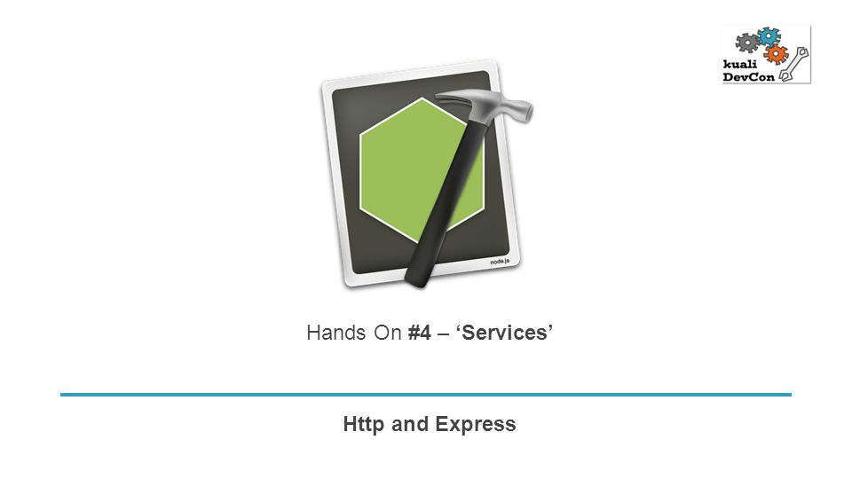 Http and Express Hands On #4 – 'Services'