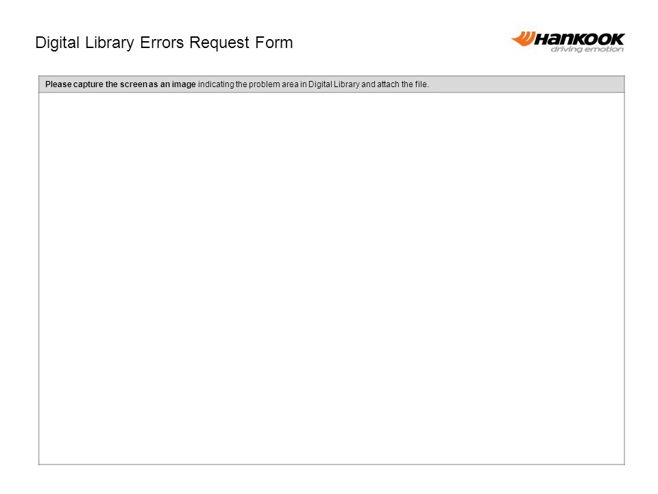 Please capture the screen as an image indicating the problem area in Digital Library and attach the file.