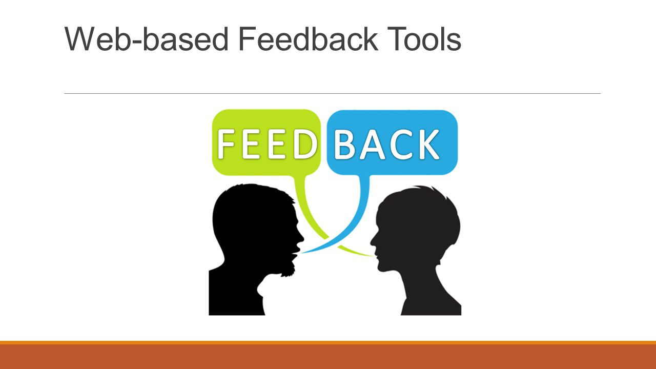 Web-based Feedback Tools