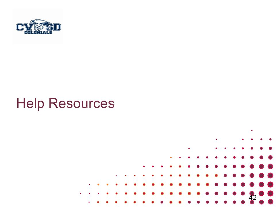 Help Resources 42