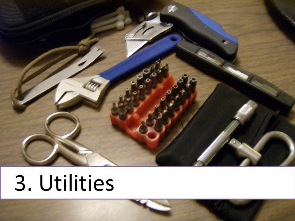 3. Utilities