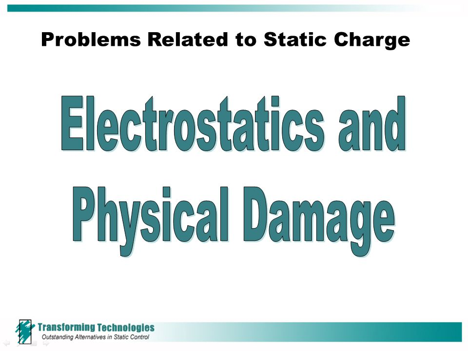 Problems Related to Static Charge