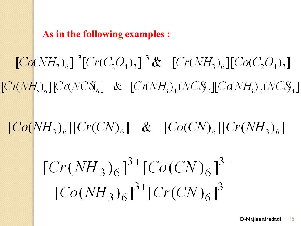 D-Najlaa alradadi18 As in the following examples :