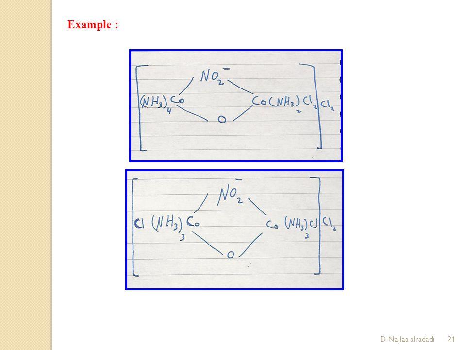 D-Najlaa alradadi21 Example :