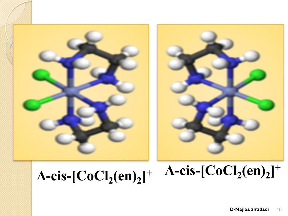 Δ-cis-[CoCl 2 (en) 2 ] + Λ-cis-[CoCl 2 (en) 2 ] + D-Najlaa alradadi46