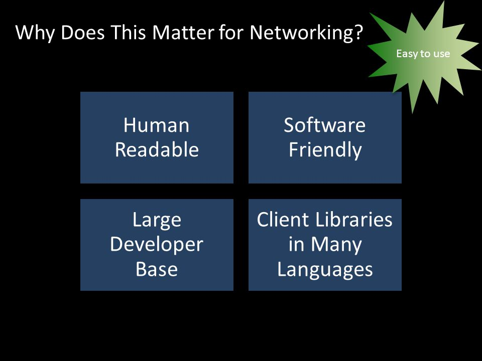 Why Does This Matter for Networking.