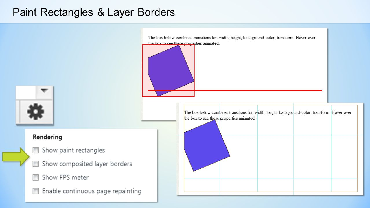 Paint Rectangles & Layer Borders