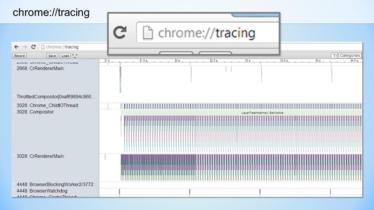 chrome://tracing