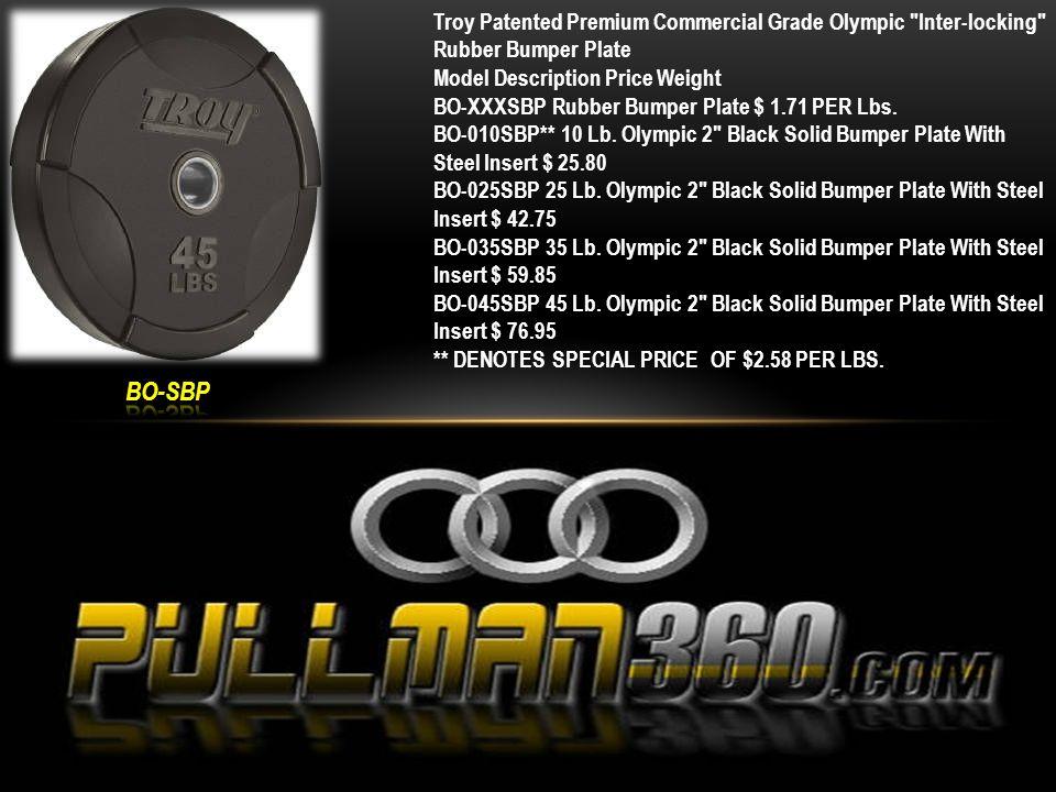 Model Price Weight GO-025UL 25 Lb.